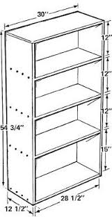 Bookcase Plans With Doors How To Build A Bookcase Pertaining Diy Designs 10 Visionexchange Co
