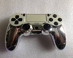black friday 2017 amazon ps4 controller replacement chrome plating housing shell parts case kit cover for