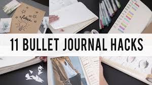 11 bullet journal hacks diy tips ideas ann le youtube