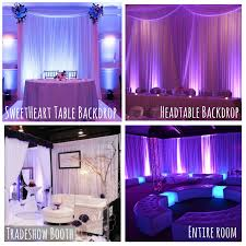 wedding backdrop lighting kit dc pipe and drape backdrops with free shipping dc pipe drape