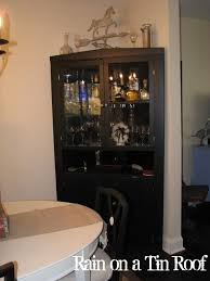 Corner Hutch Dining Room by Furniture Corner Liquor Cabinet For Mixing And Serving A Fixed