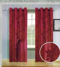 Curtains 60 X 90 Take A Look At This Burgundy Gold Xanadu Lined Curtain Panel