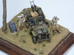 tamiya willys jeep desert patrol vignette sas jeep ready for inspection armour