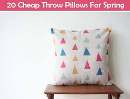 Cheap Sofa Pillows 20 Cheap Throw Pillows For Spring Diy Ideas By You
