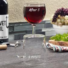 before u0026 after 5 coffee mug and wine glass