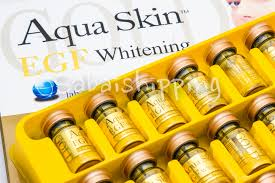 aqua skin egf gold aqua skin egf whitening gold collagen extract with