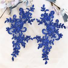 Beautiful Purple Motifs Online Buy Wholesale Embroidery Lace Motif From China Embroidery