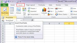 excel easy pivot tables microsoft excel 2016 pivot tables excel consultant