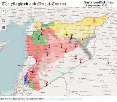 Syria On A Map by Agathocle Desyracuse Desyracuse Twitter