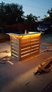 Diy Patio Lights by Best 25 Patio Bar Ideas On Pinterest Outdoor Patio Bar Diy