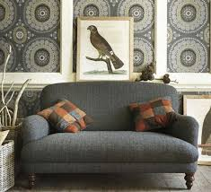 grey tweed sofa traditional living rooms two seater harris tweed sofa tartans