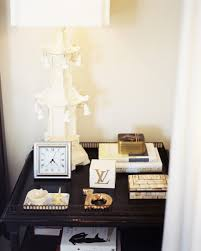 table picture display ideas bedside table display photos design ideas remodel and decor lonny