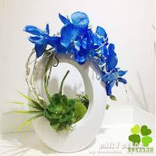 Orchid Flower Arrangements Aliexpress Com Buy New 50cm High Simulation Handmade Ikebana