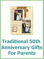 50th anniversary gifts and they lived happily after print gift ideas for 50th