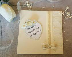 luxury wedding card etsy