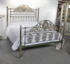 extremely rare super king size winfield all brass bedstead