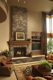 house grey stone fireplace photo painted gray stone fireplace