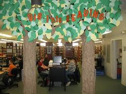 75 best library tree theme images on library ideas