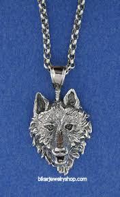silver wolf pendant necklace images Biker jewelry biker pendant necklaces sterling silver wolf head jpg