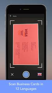 Business Card Reader Scanner Cardwiz Business Card Reader Scanner With Sync On The App Store