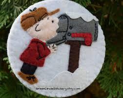 wool felt ornaments etsy