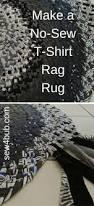 Tied Rag Rug Best 25 Rag Rug Tutorial Ideas On Pinterest Rag Rugs Homemade