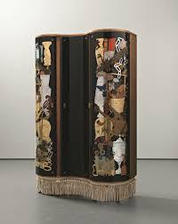 unique cabinet giò ponti u0026 piero fornasetti unique cabinet 1940 curved glass