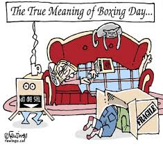 Boxing Day Meme - the true meaning of boxing day