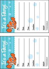 host diy finding nemo party disneyside budgeting