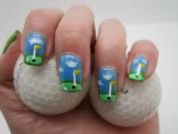 thatleanne simple golf nail art how to feat illamasqua smash