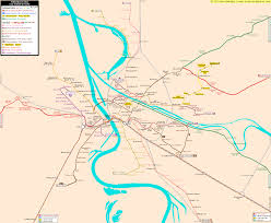 Amsterdam Metro Map by Rhein Neckar Real Distance Metro Map