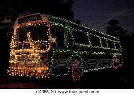 stock photography of bus georgia ga atlanta colorful christmas