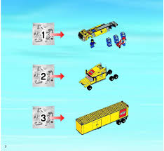 lego police jeep instructions city delivery truck lego 3221 lego instructions pinterest