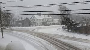an all day event snow winds hit cape cod the islands and south