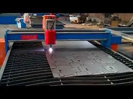 used plasma cutting table steel cutting plasma machine plasma cutting machine flv youtube