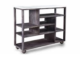 wood table modern natural marble top mango wood console table modern scandinavian