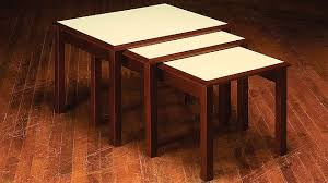How To Build A Wood Table Top Podium by How To Build Nesting Tables Simple Diy Woodworking Project