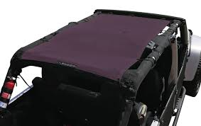 purple jeep no doors alien sunshade for jeep wrangler mesh tops for jeep lovers