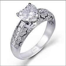 Heart Shaped Wedding Rings by Top 8 Heart Shaped Engagement Rings Of 2012 Engagement 101