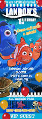shark birthday invitations 7 best finding dory birthday invitations images on pinterest