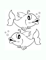 coloriage de poissons coloriages pour enfants