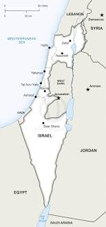 political map of israel vector map of israel political one stop map
