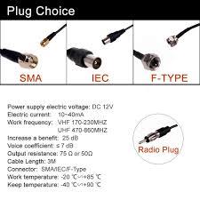 amazon com hitcar in car tv radio antenna signal amplifier signal