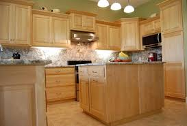 kitchen surprising maple kitchen cabinets and wall color gallery