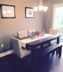 Ideas For Kitchen Table Centerpieces Dining Room Furniture With Bench Dining Room Furniture With Bench