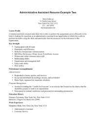 Administrative Resume Objective Examples by Resume Examples Objective For Office Assistant Resume Examples