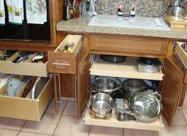 Kitchen Cabinet And Drawer Organizers - pull out kitchen cabinet organizers ellajanegoeppinger com