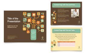 business services brochure template design
