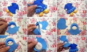 membuat kerajinan bros 100 kerajinan dari kain flanel beserta cara membuat gambar kreasi