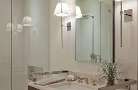 Contemporary Bathroom Wall Sconces Amazing Contemporary Contemporary Chic Crystal Bathroom Wall